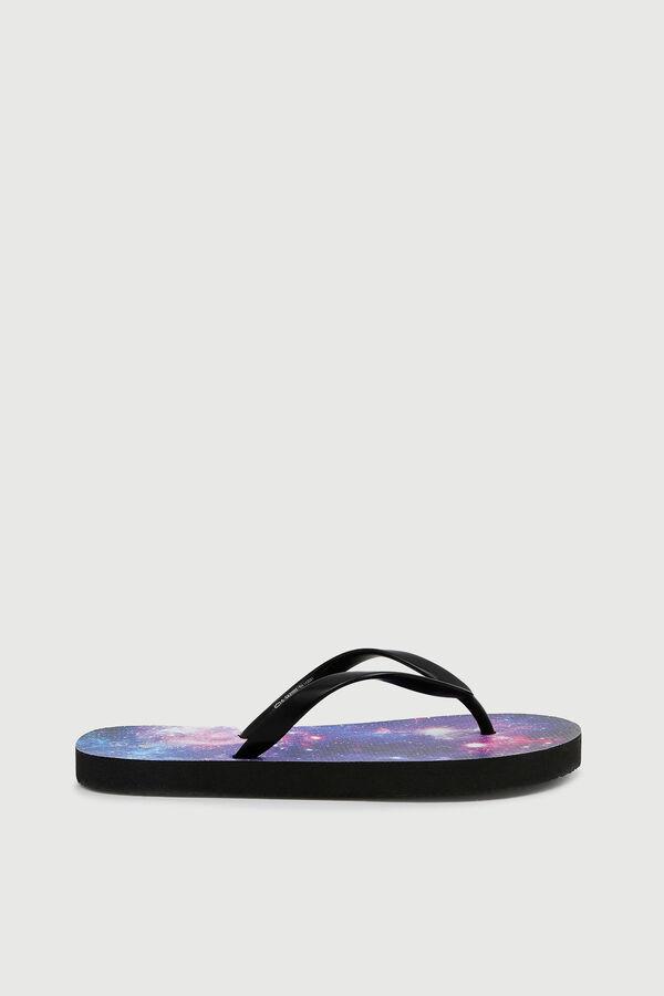 Galaxy Flip-Flops for Kids
