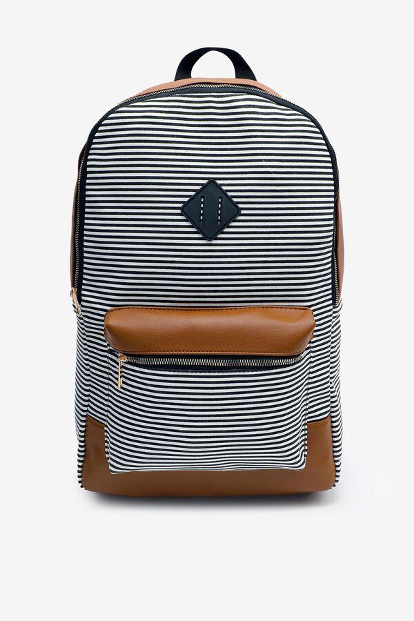 Breton Stripe Backpack