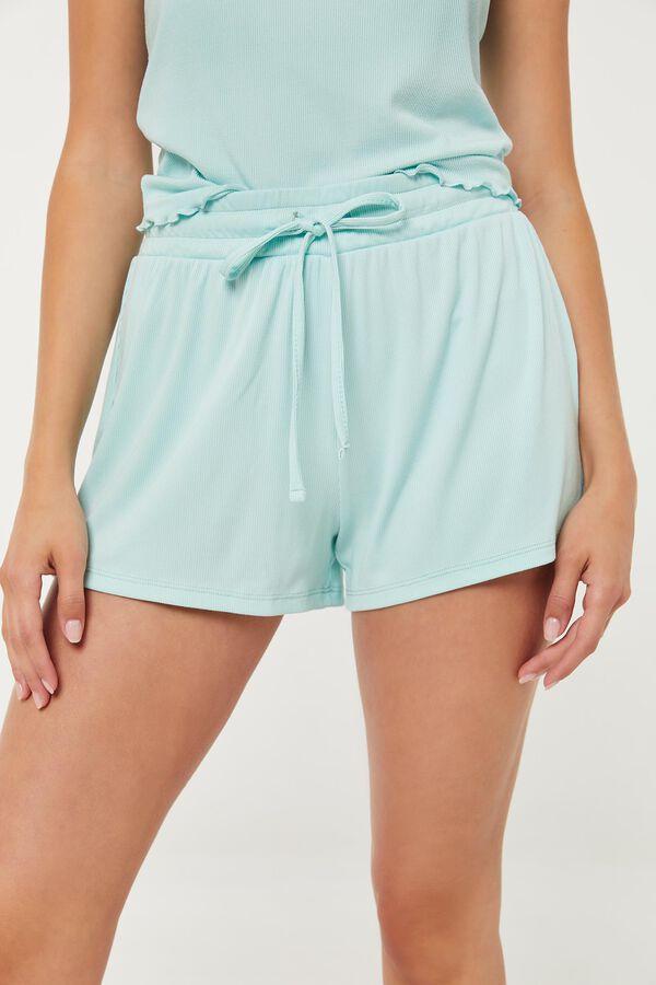Ribbed PJ Shorts