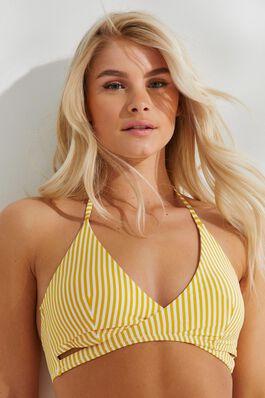 32704a980fda87 Halter Stripe Wrap Bikini Top.  15.90. BUY 1 ...