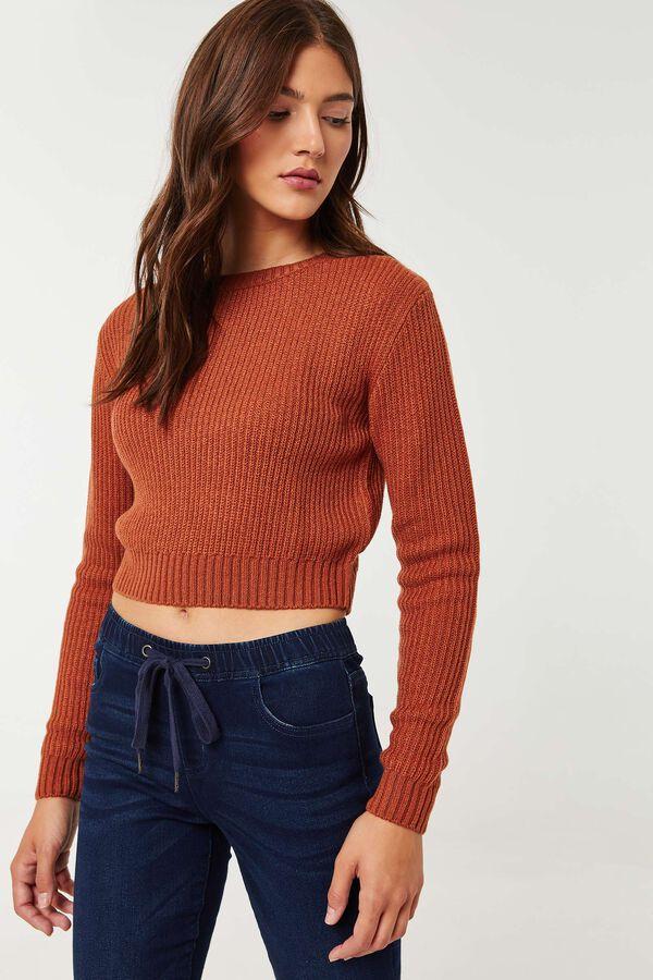 Reverse Stitch Sweater