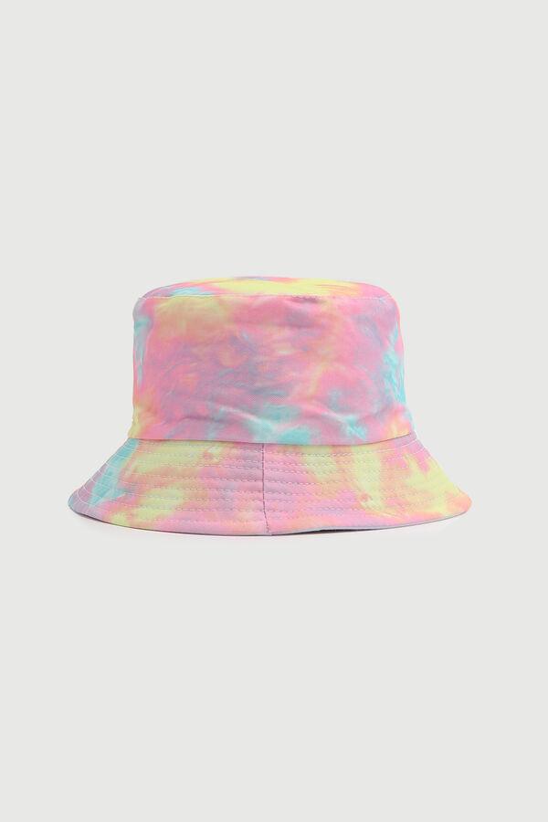 Chapeau de pêche tie-dye