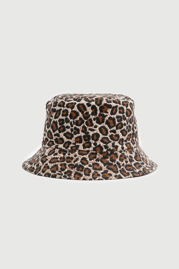 Chapeau de pêche léopard