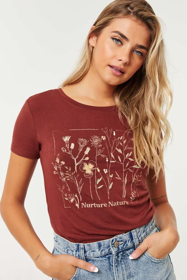 T-shirt graphique Nurture Nature