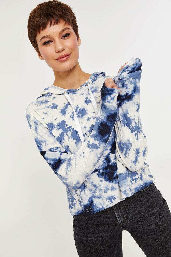 4678e9a6880f72 Crop Tie Dye Hoodie - Clothing | Ardene