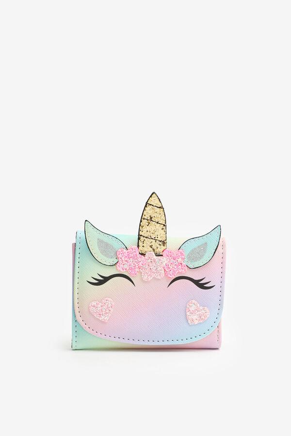 Unicorn Folded Wallet for Girls