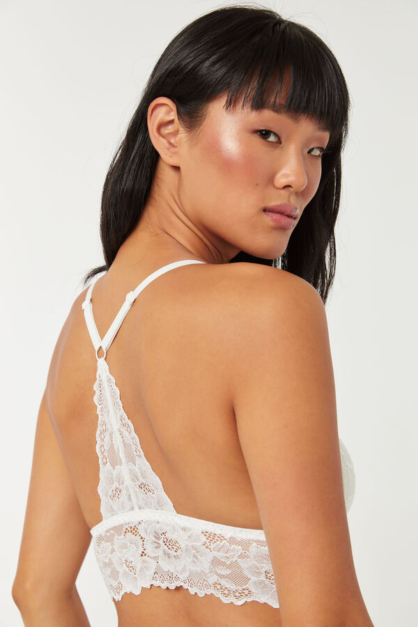 Lace Longline Bralette