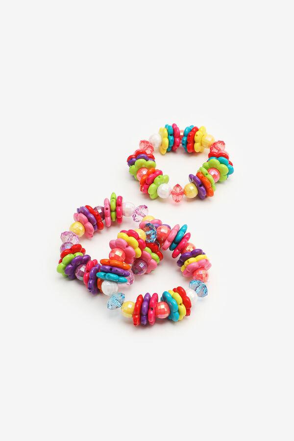 3-Pack Mix Bead Bracelets for Girls