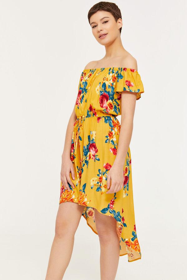 0be2d55f4f588 Ardene Ardene Women s Off Shoulder Floral High-Low Dress