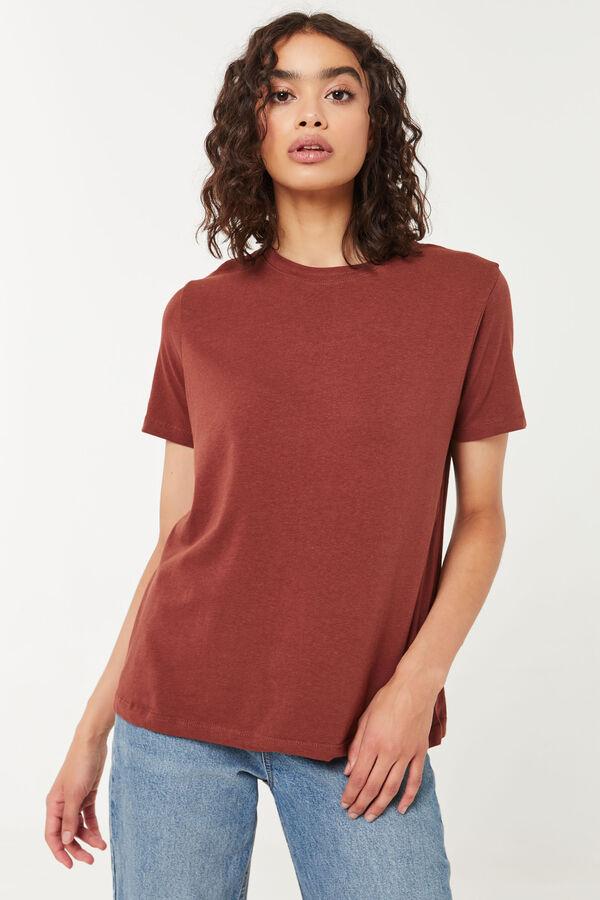 T-shirt col rond Basic