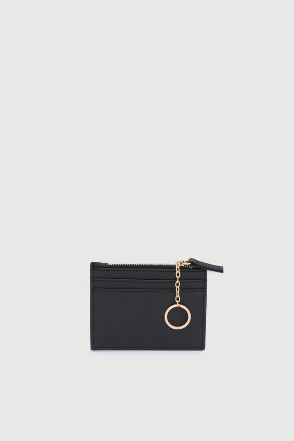 Faux Leather Cardholder