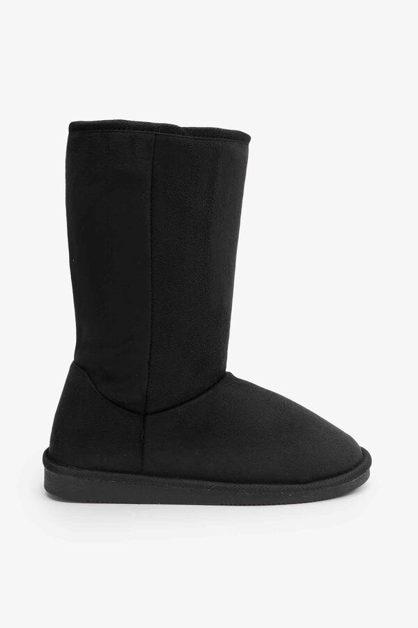 Faux Shearling Mid Boots