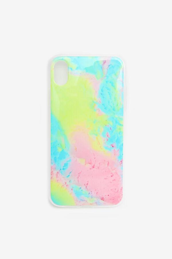 Étui d'iPhone XR tie-dye