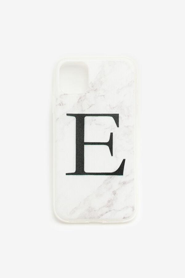 Étui d'iPhone 11 lettre E
