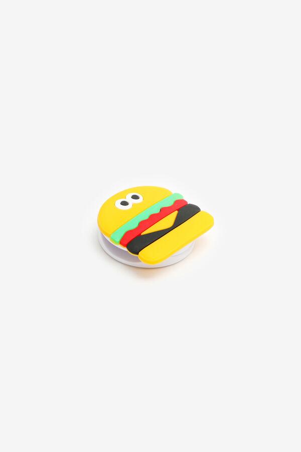 Hamburger Shape Phone Ring