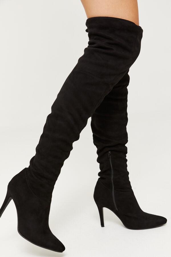 4e46c3735c4d Ardene Ardene Women s Knee-High Microsuede Stiletto Boots