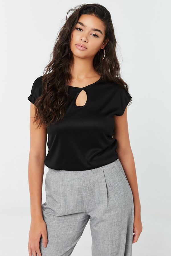 Dolman Top with Ruched Sides