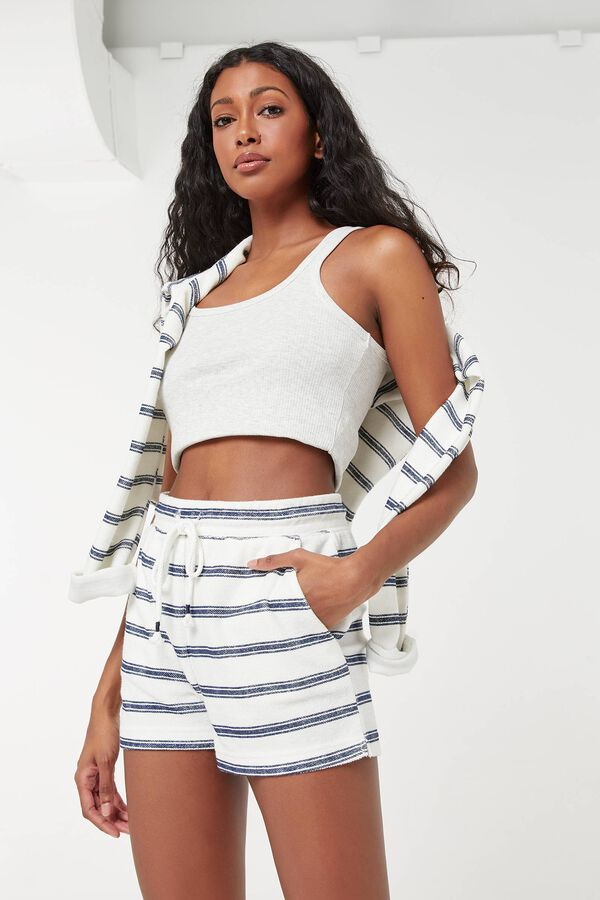 Nautical Terrycloth Shorts