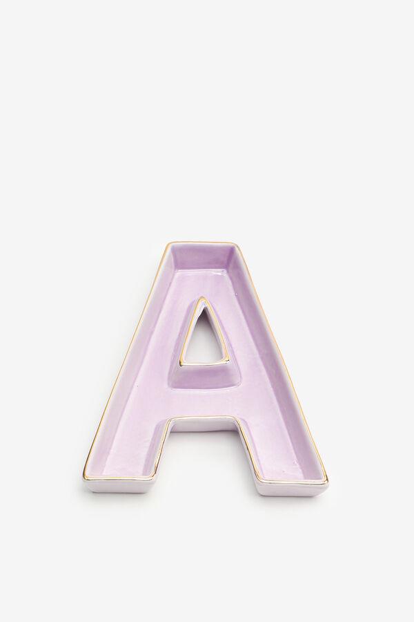 Letter A Trinket Tray