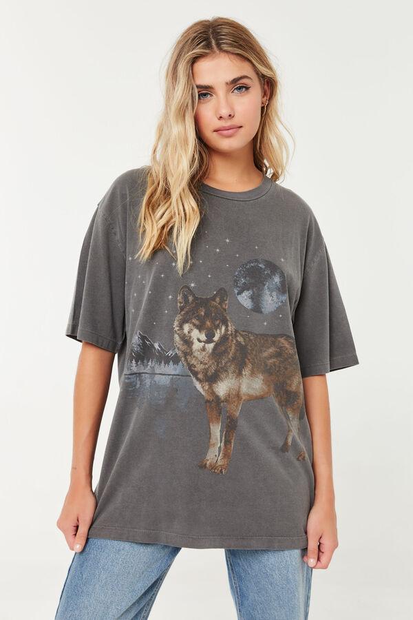 T-shirt de loup