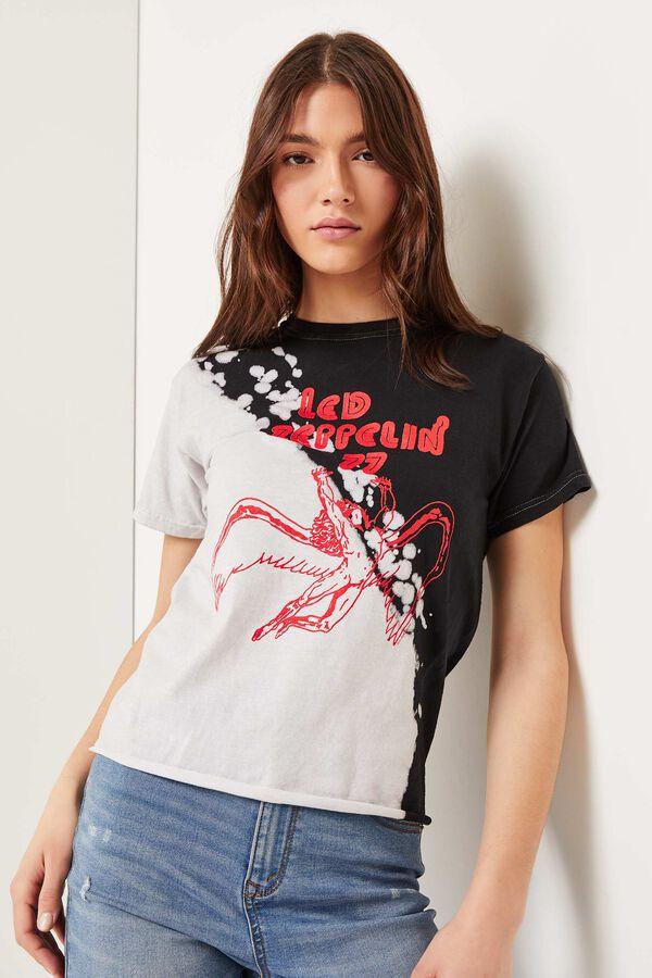 T-shirt tie-dye Led Zeppelin
