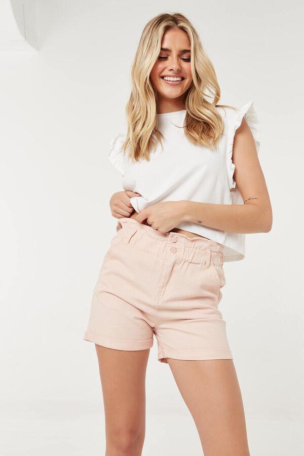 Organic Cotton Paper Bag Shorts