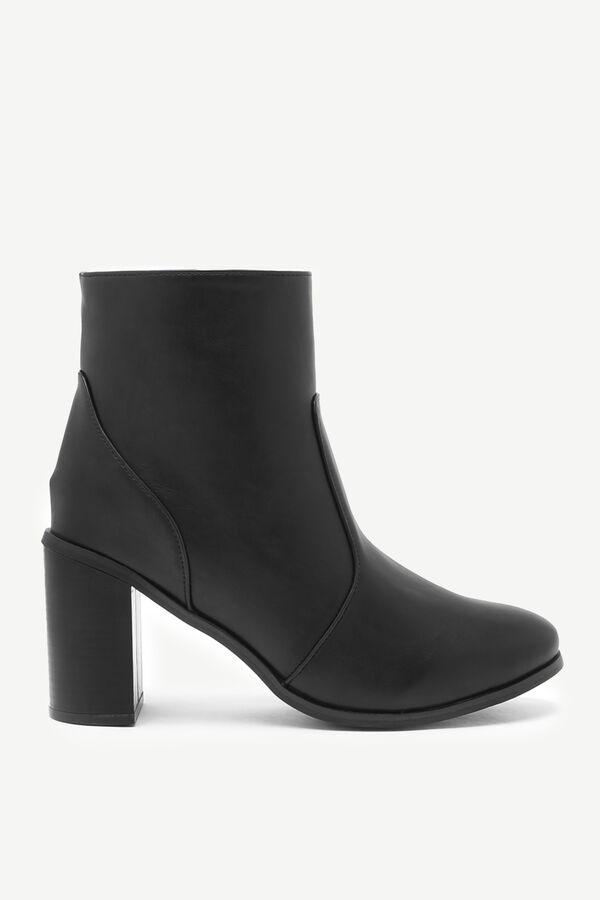 Block Heel Booties