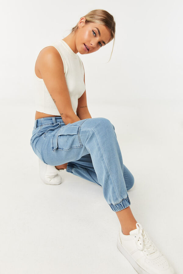 Ultra Comfy Cargo Jeans