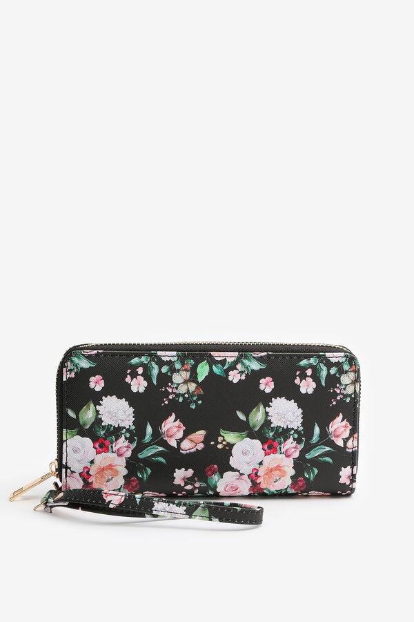 Floral Accordion Wallet