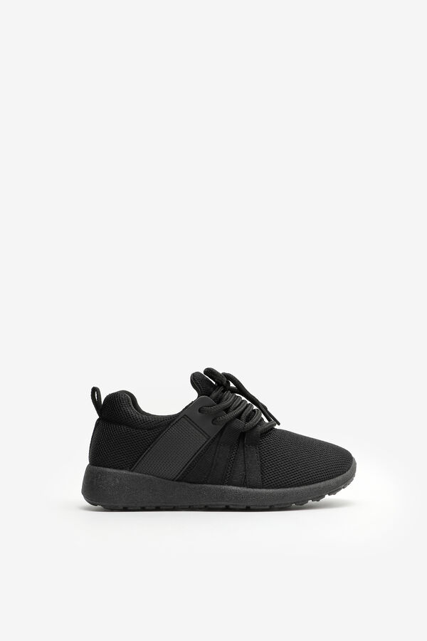 Monochrome Athletic Sneakers for Girls