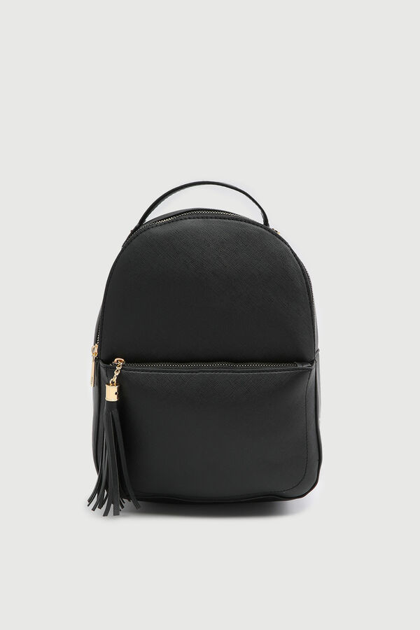 Casual Backpack with Fringe