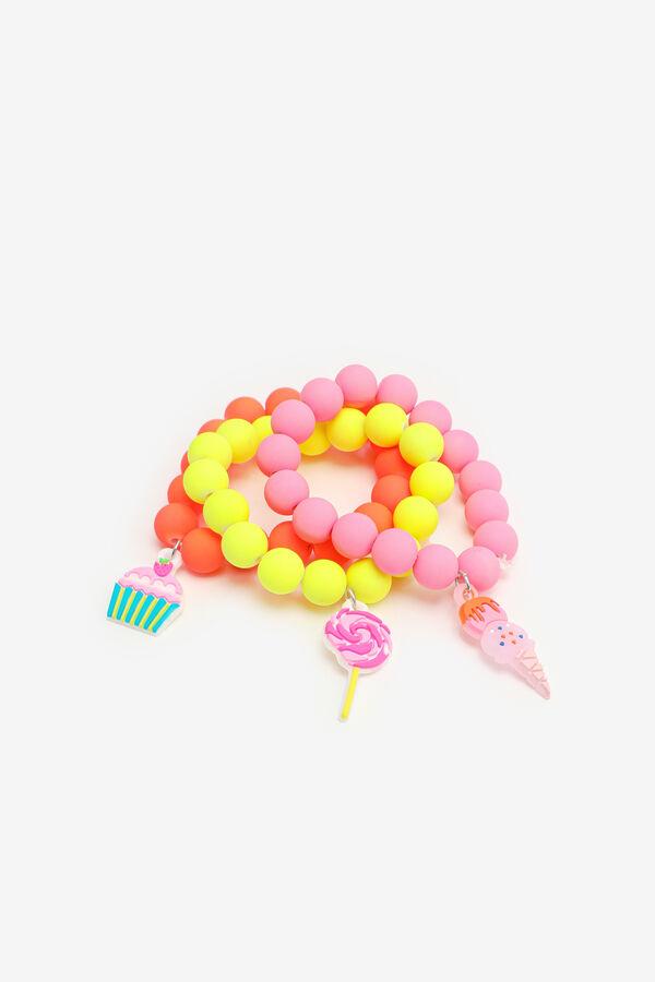 3-Pack Sweet Treat Bracelets for Girls