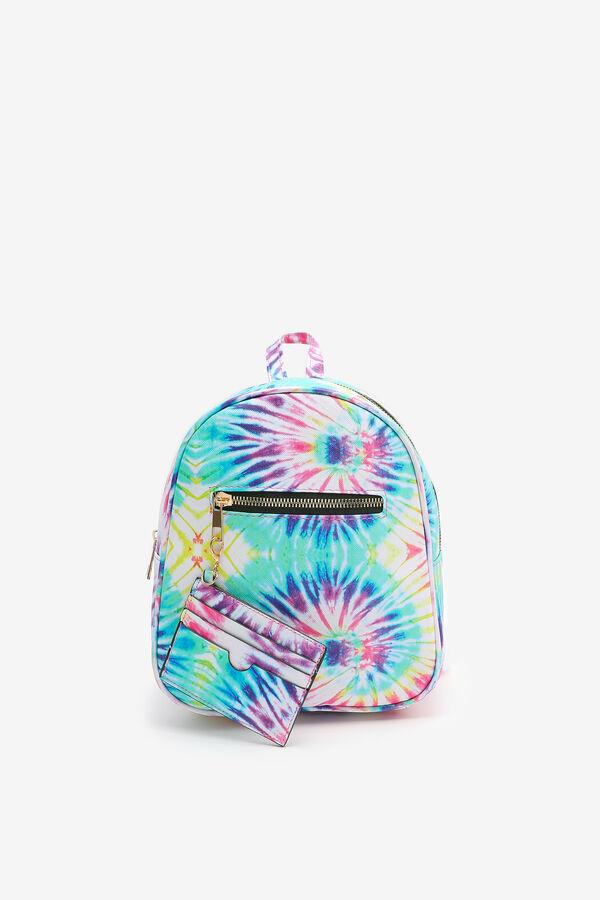 Petit sac à dos tie-dye