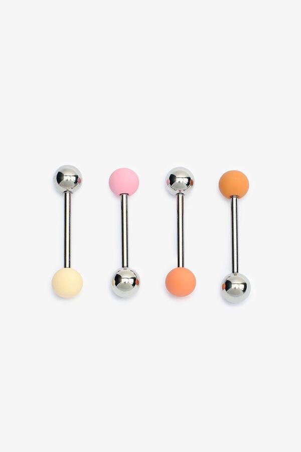 4-Pack Tongue Piercings