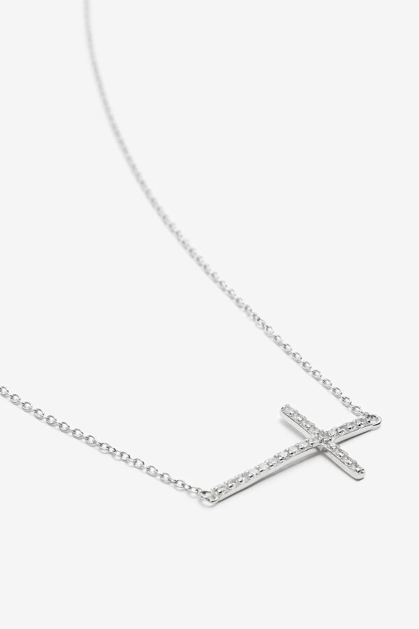 Sterling Silver Necklace with Cross