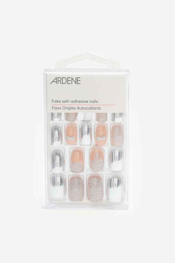 Pack of Glitter Stiletto Fake Nails