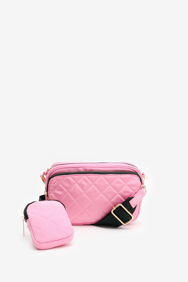Quilted Crossbody Pouch