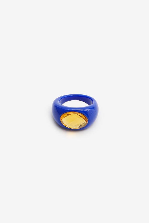 Plastic Statement Ring