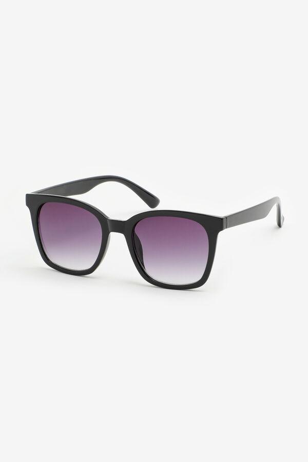 Faded Square Sunglasses