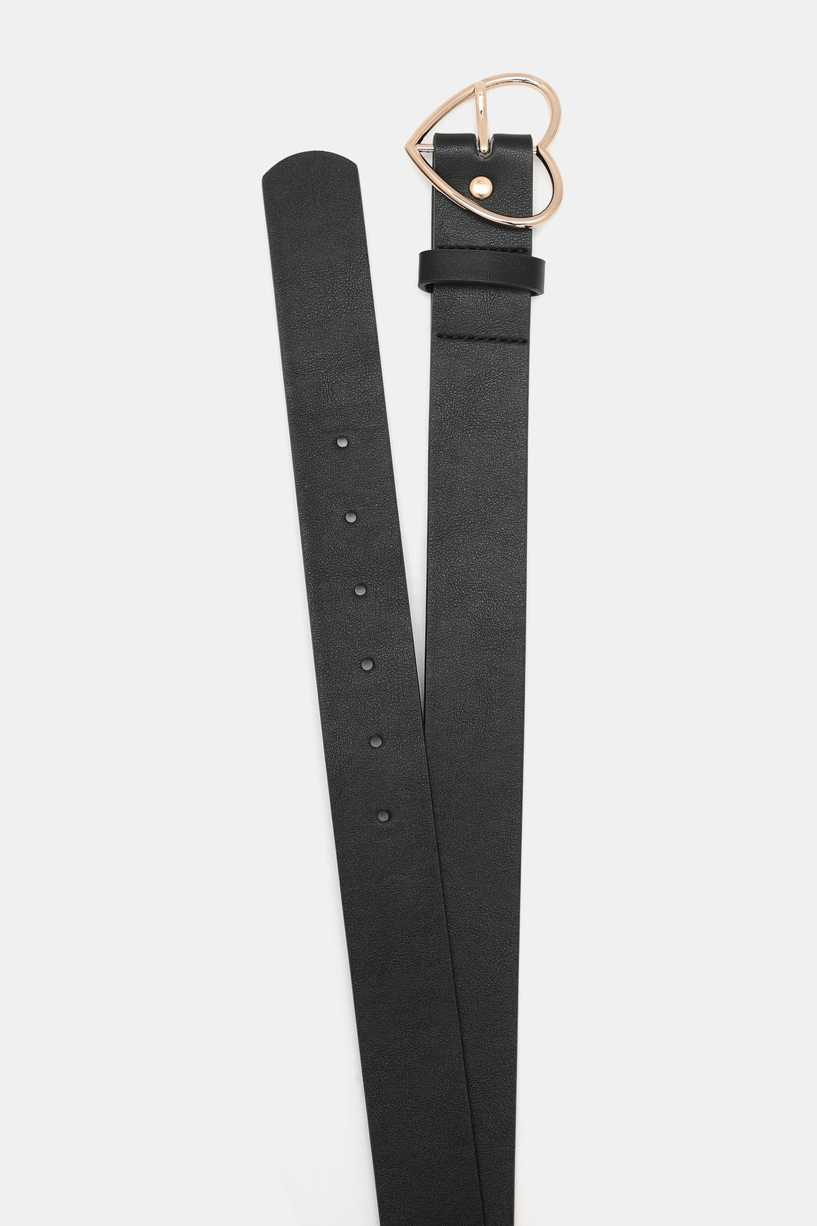 Ceinturon Boucle Basic noir