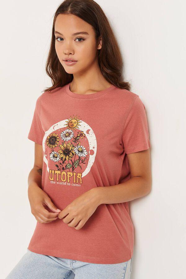 T-shirt en coton classique utopia