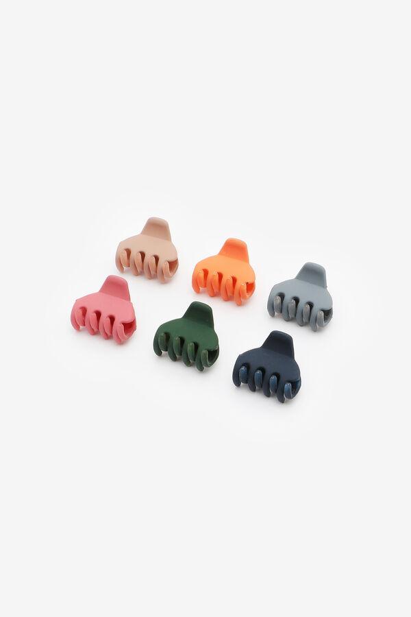 Minipinces à cheveux de couleurs chaudes