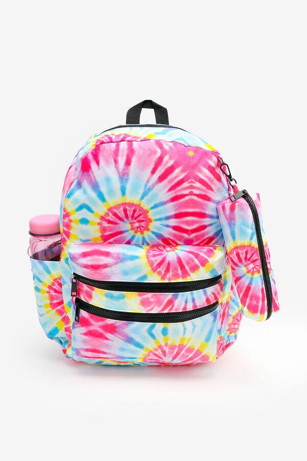 Tie-Dye Backpack with Pencil Case