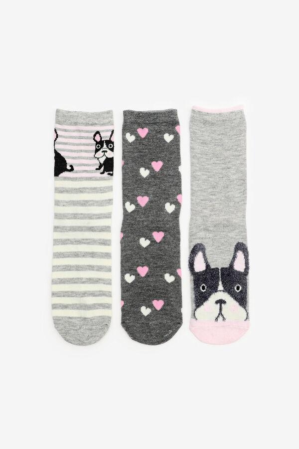 Pack of Bulldog Crew Socks