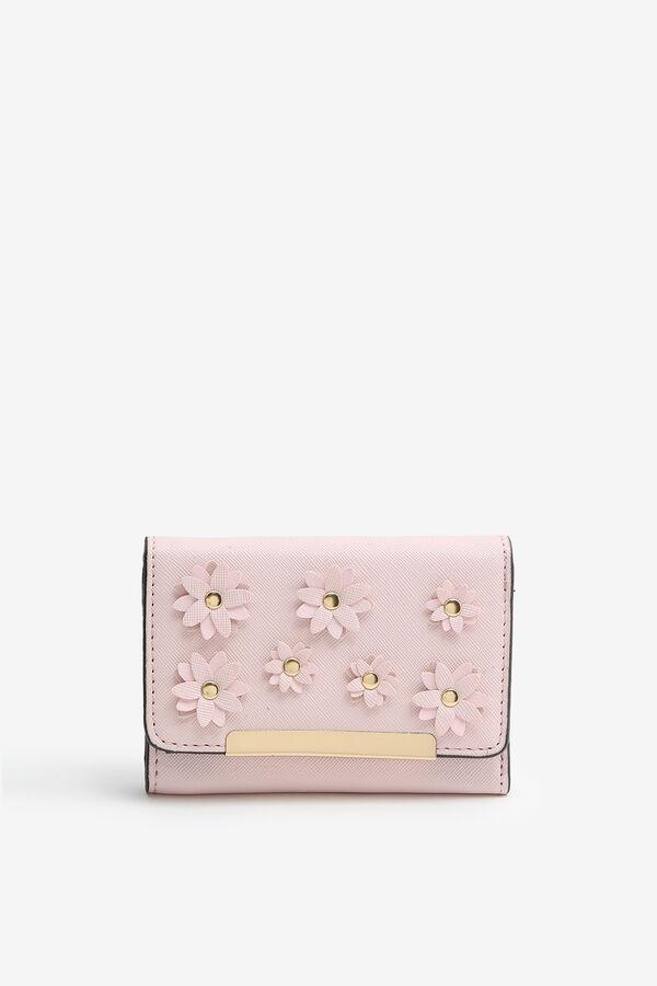Portefeuille à fleurs