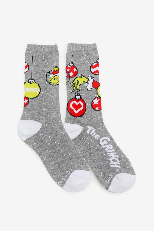 The Grinch Crew Socks