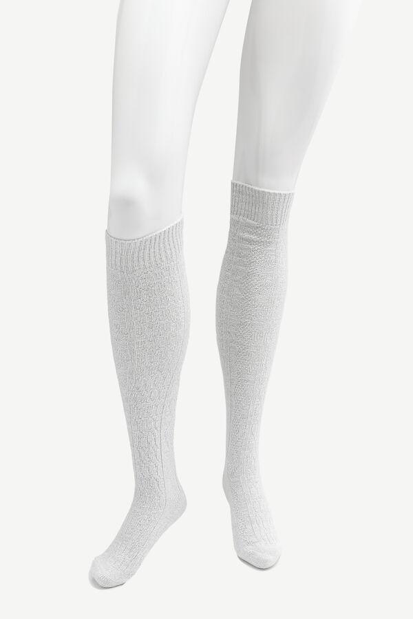 Super Soft Cable Knit Socks