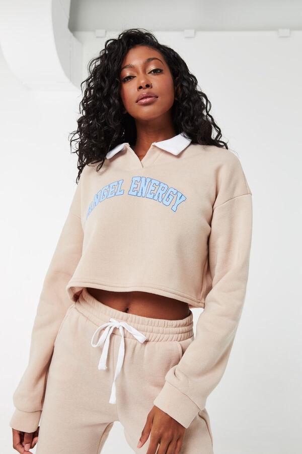 Angel Energy Polo Sweatshirt
