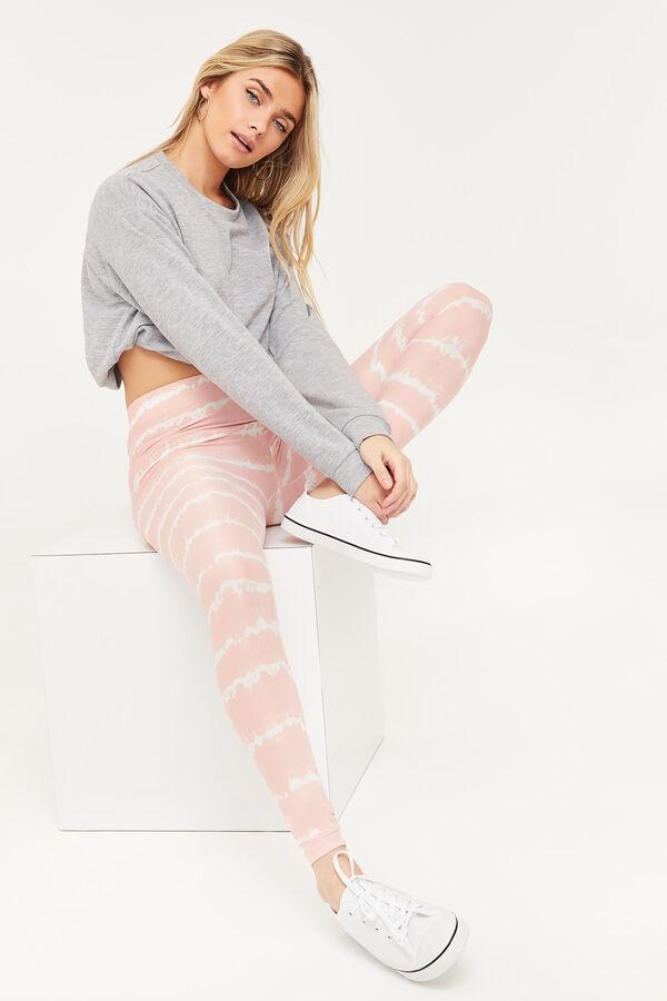 Tie-Dye Striped Leggings