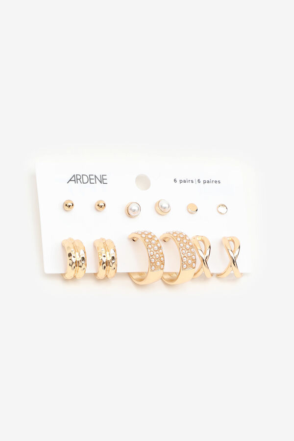 Pack of Assorted Earrings with Pearls